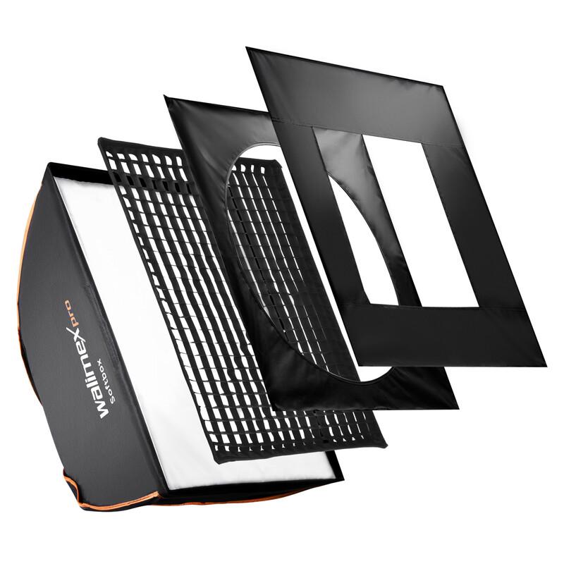 walimex pro Softbox PLUS OL 60x90cm + Uni Adapter