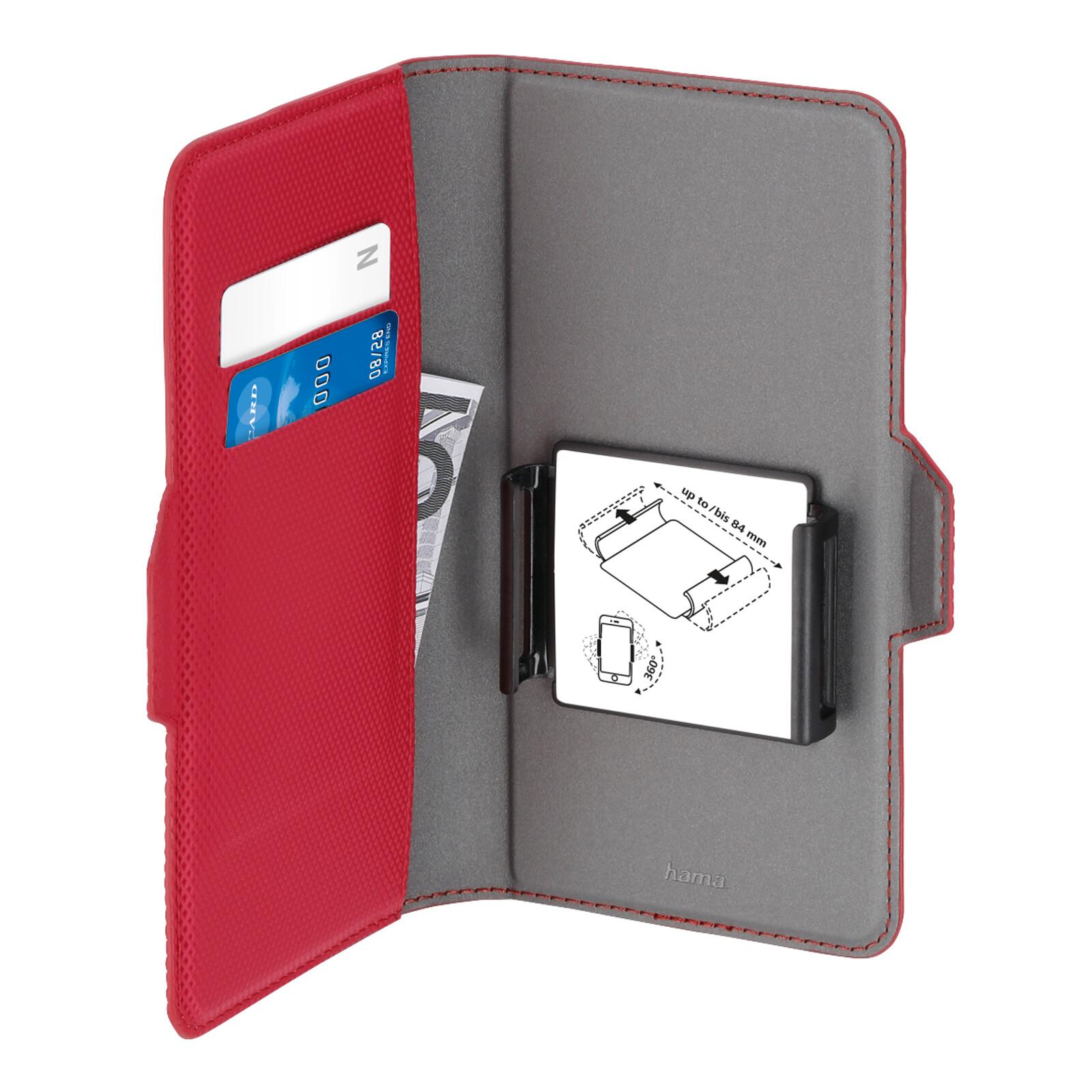 "Hama Book Tasche Smart Move Rainbow XXL 5,2-5,8"" rot"