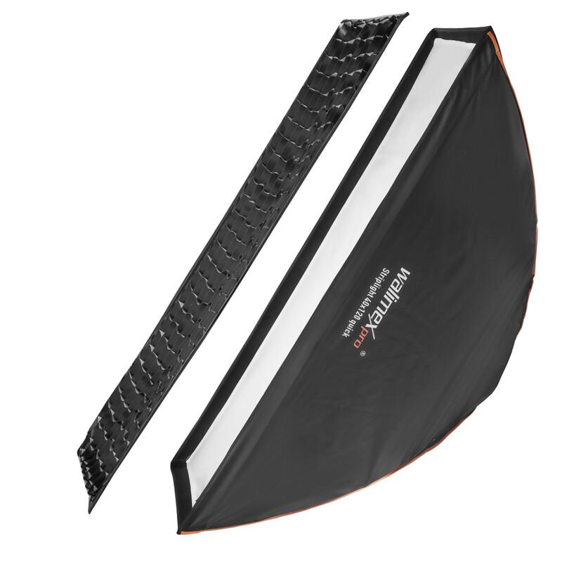 Walimex pro Studio Line Striplight Softbox QA 40x120cm Auror