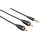 Hama 181510 Audio-Kabel 3,5mm Klinken - 2 Cinch-Stecker 1,5m