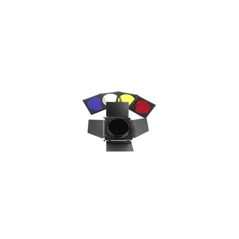 walimex Universal Abschirmklappen/Waben/Filterset
