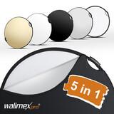 Walimex pro 5in1 Faltreflektor wavy comfort Ø80cm