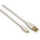 Hama 78468 Mini-USB-2.0-Kabel, vergoldet, doppelt geschirmt,