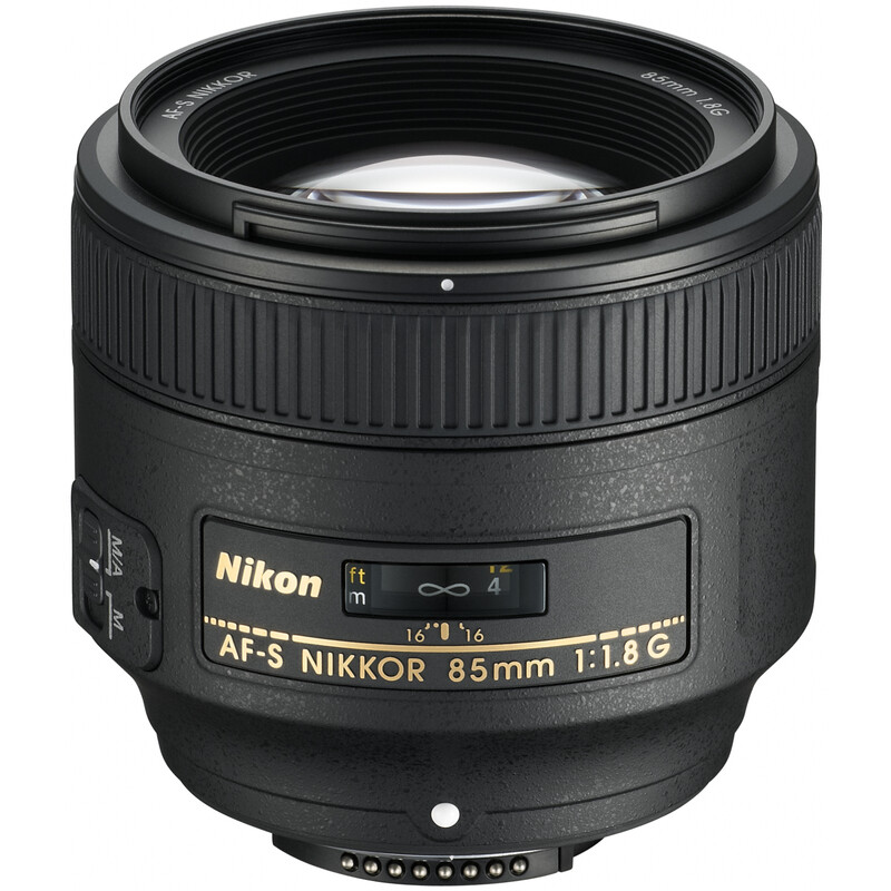 Nikkor AF-S 85/1,8G + UV Filter