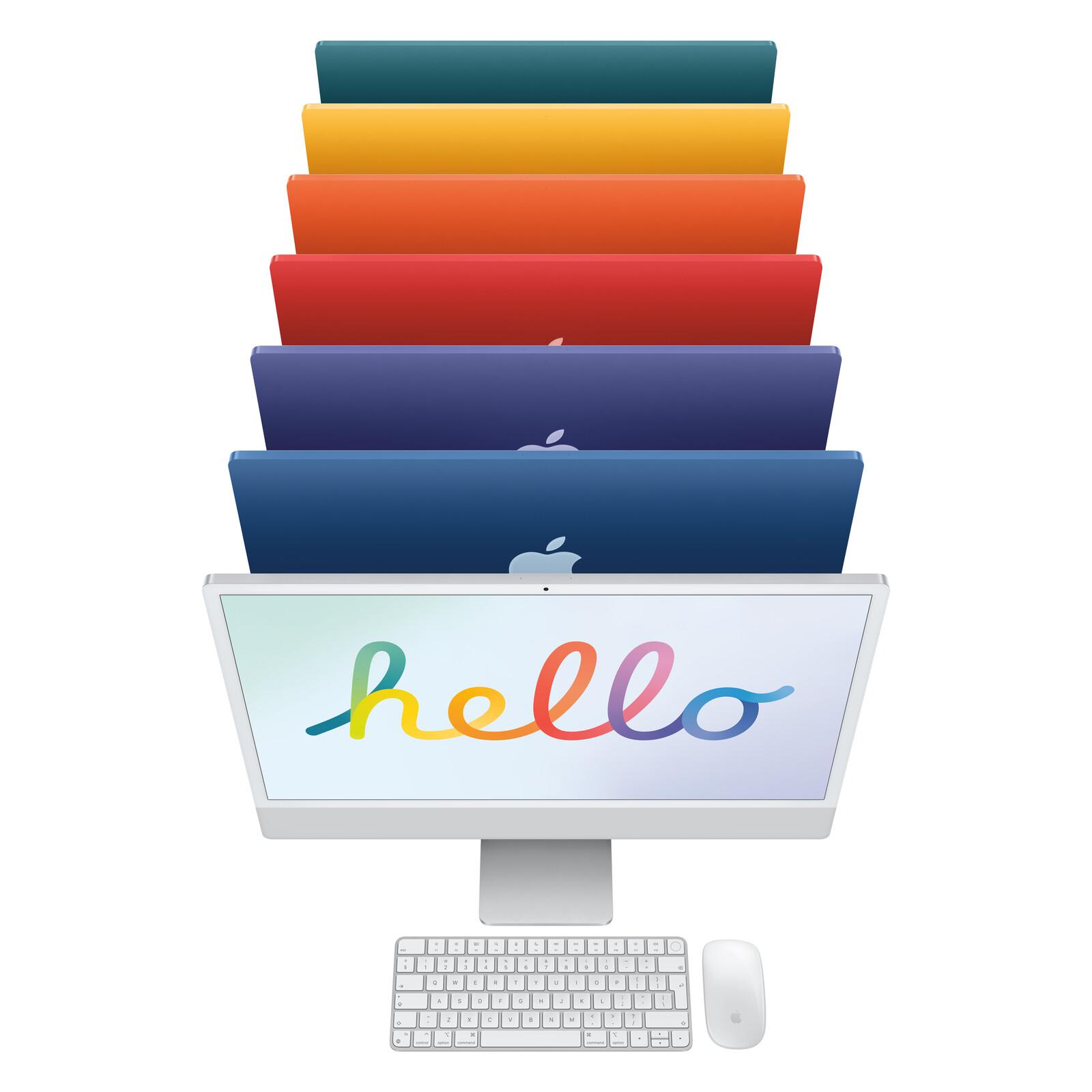 """App iMac 24"""" 8-Core CPU/7-Core GPU/8GB/256GB SSD/silber"""