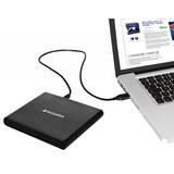 Verbatim externer CD/DVD Brenner USB 2.0 Slimline