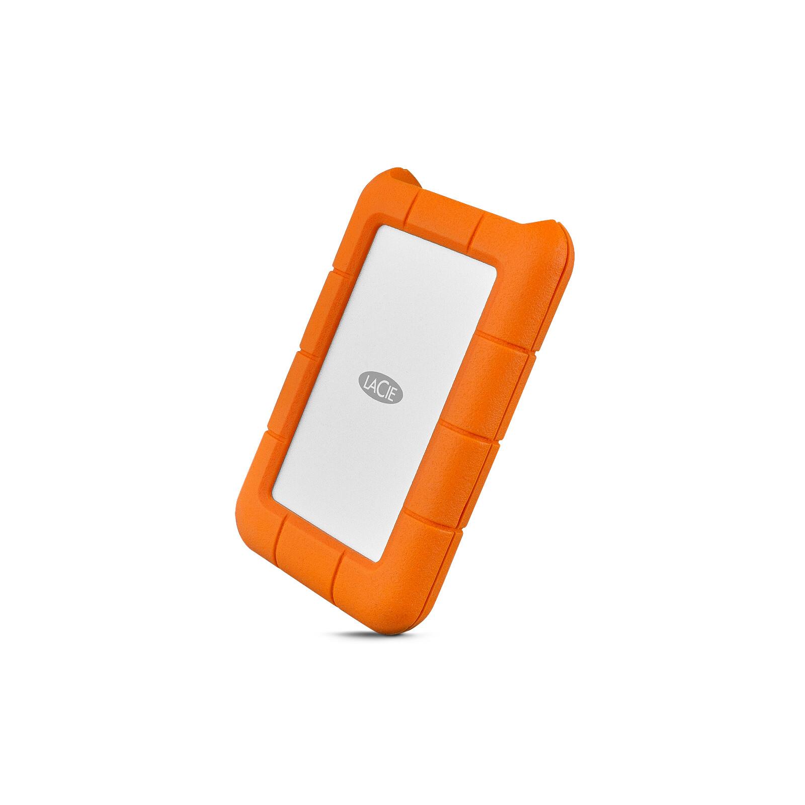 """LaCie Rugged USB-C 1TB 2.5"""", Rescue 2Y"""