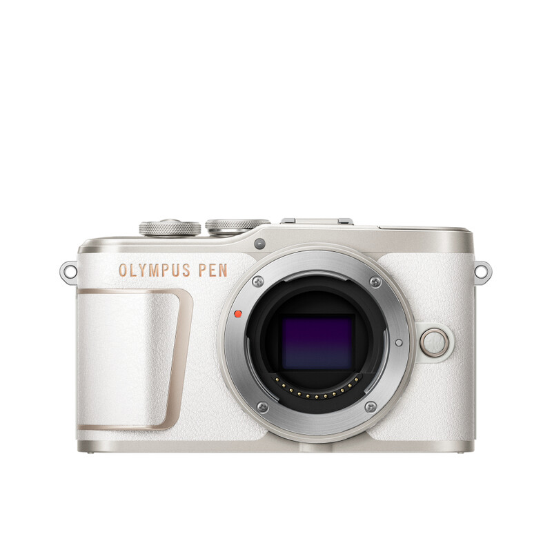 Olympus E-PL10 Gehäuse Weiß