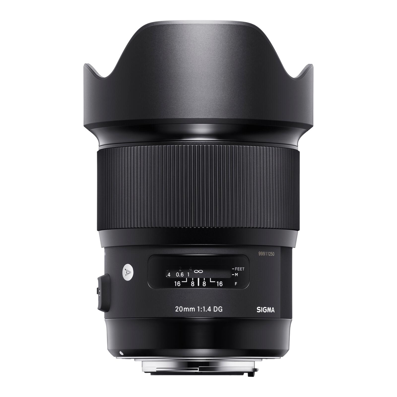 Sigma ART 20/1.4 DG HSM Canon