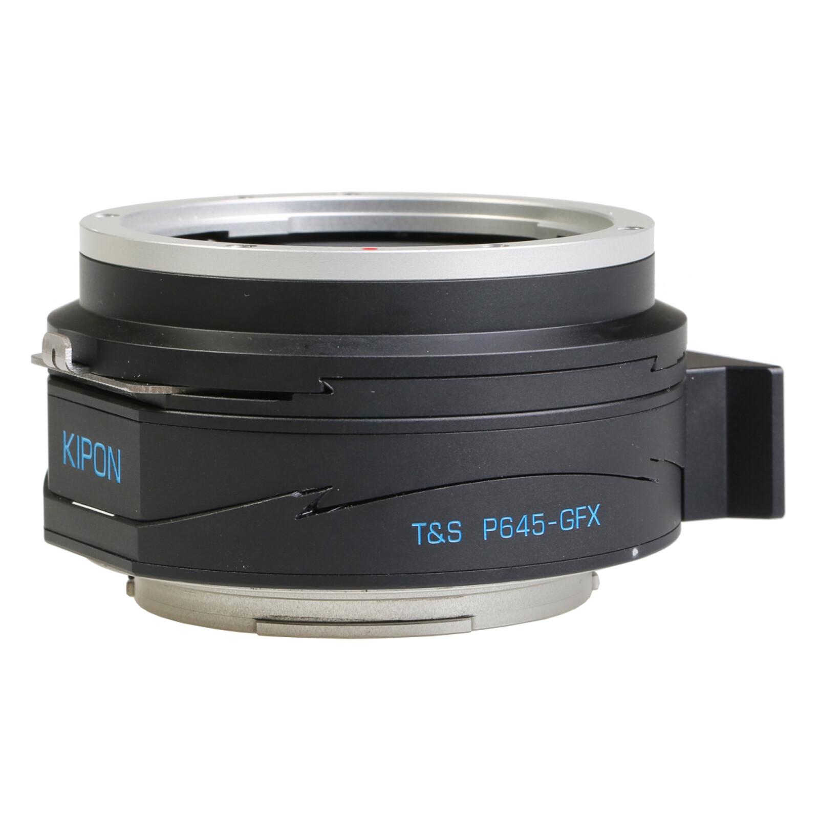 Kipon Pro T-S Adapter für Pentax 645 auf Fuji GFX