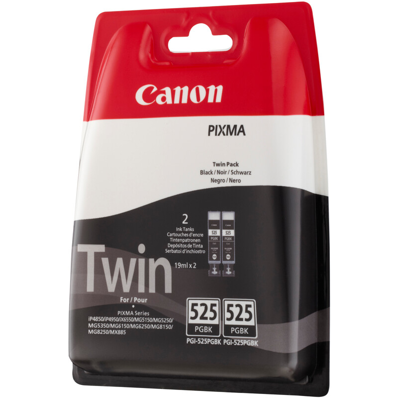 Canon PGI-525PGBK Tinte 2er Pack black