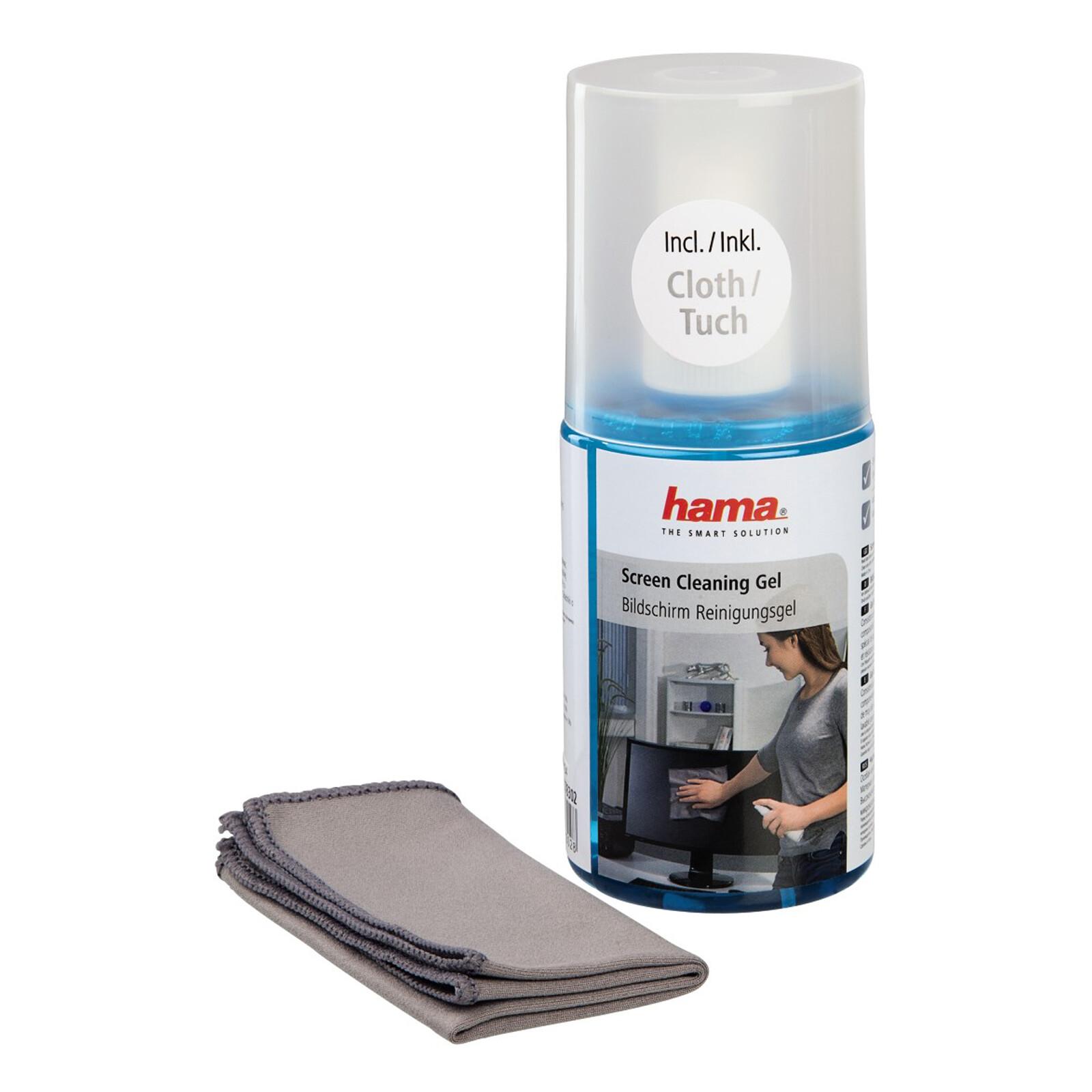 Hama Bildschirm Reinigungsgel inkl Tuch