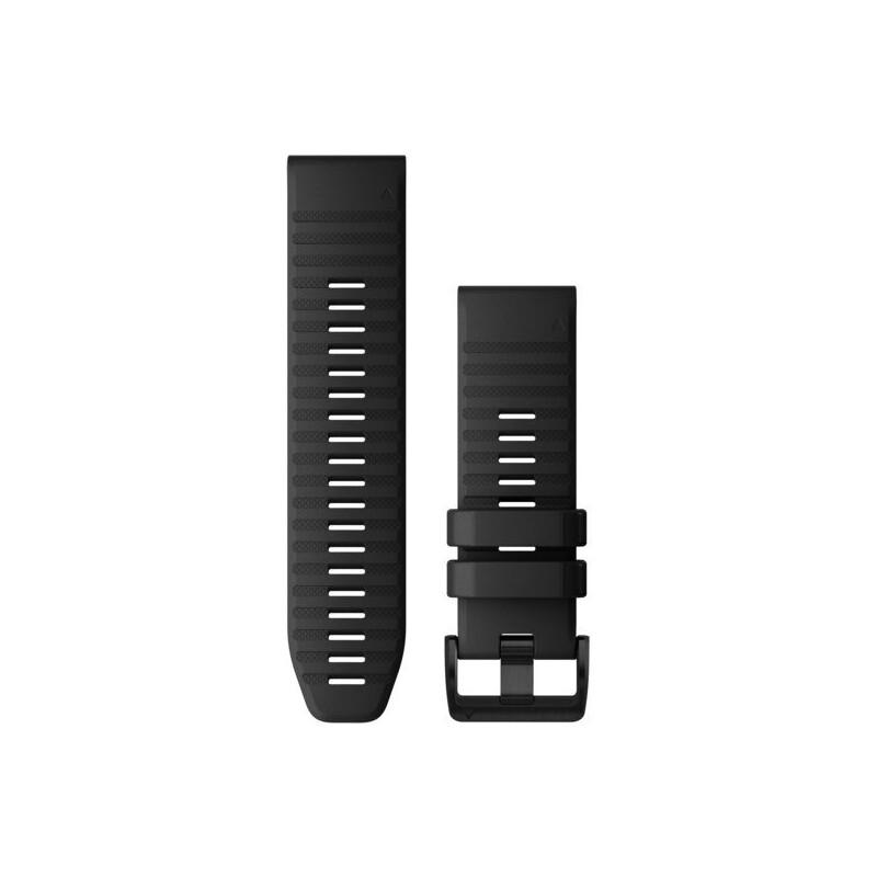 Garmin Quickfit 26 Uhrenarmband Silikon schwarz