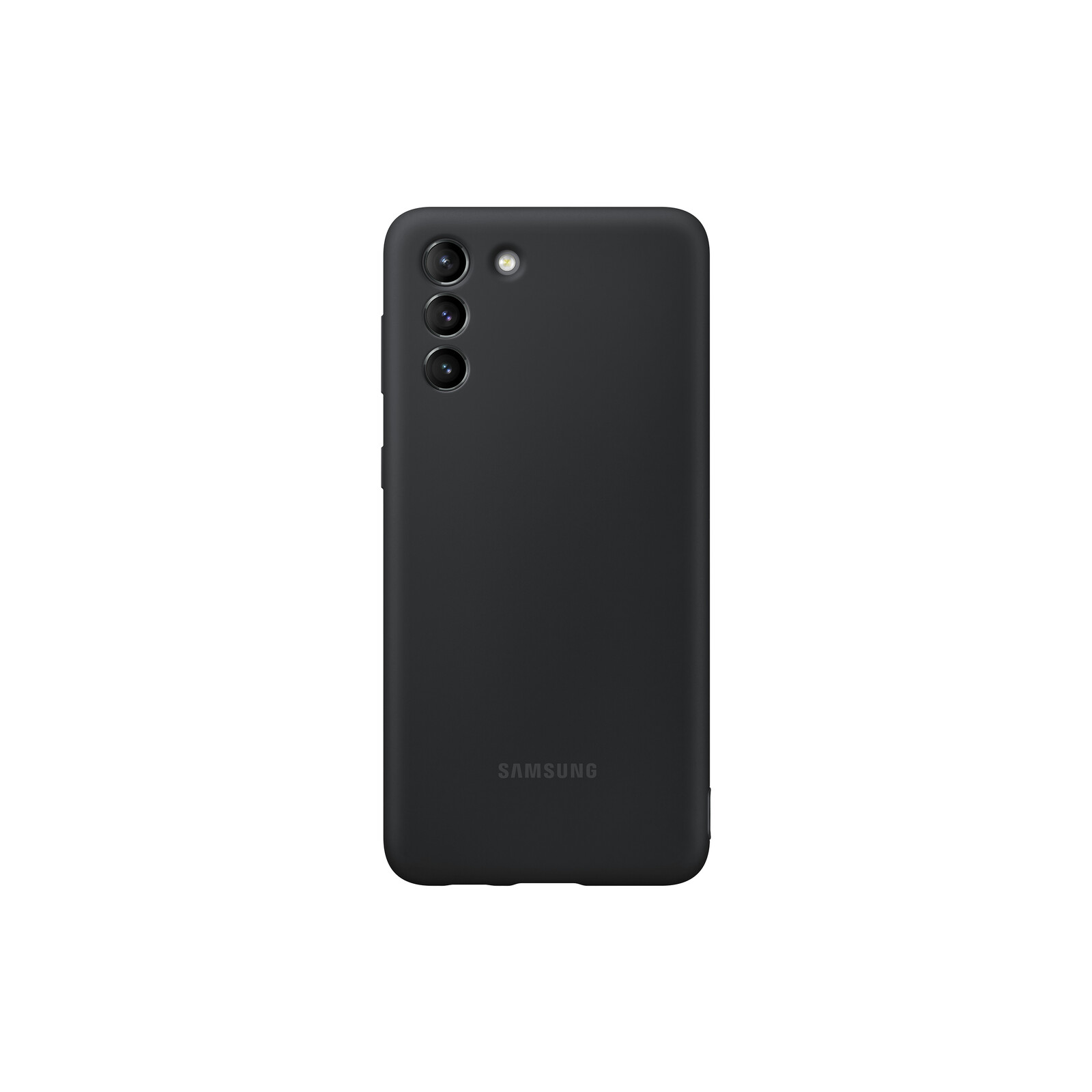 Samsung Back Cover Silicone Galaxy S21+ black