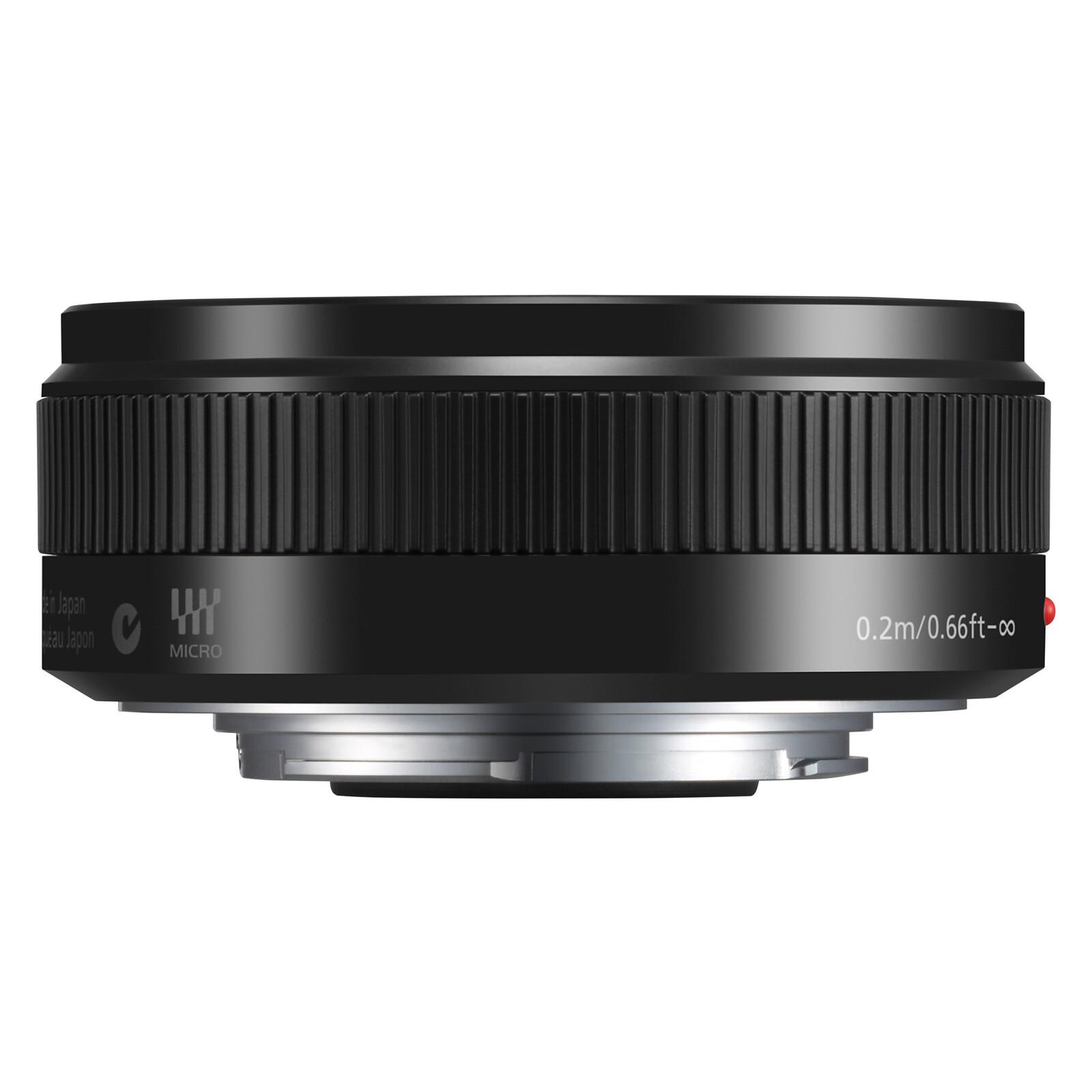 Panasonic 20/1,7 Lumix G + UV Filter