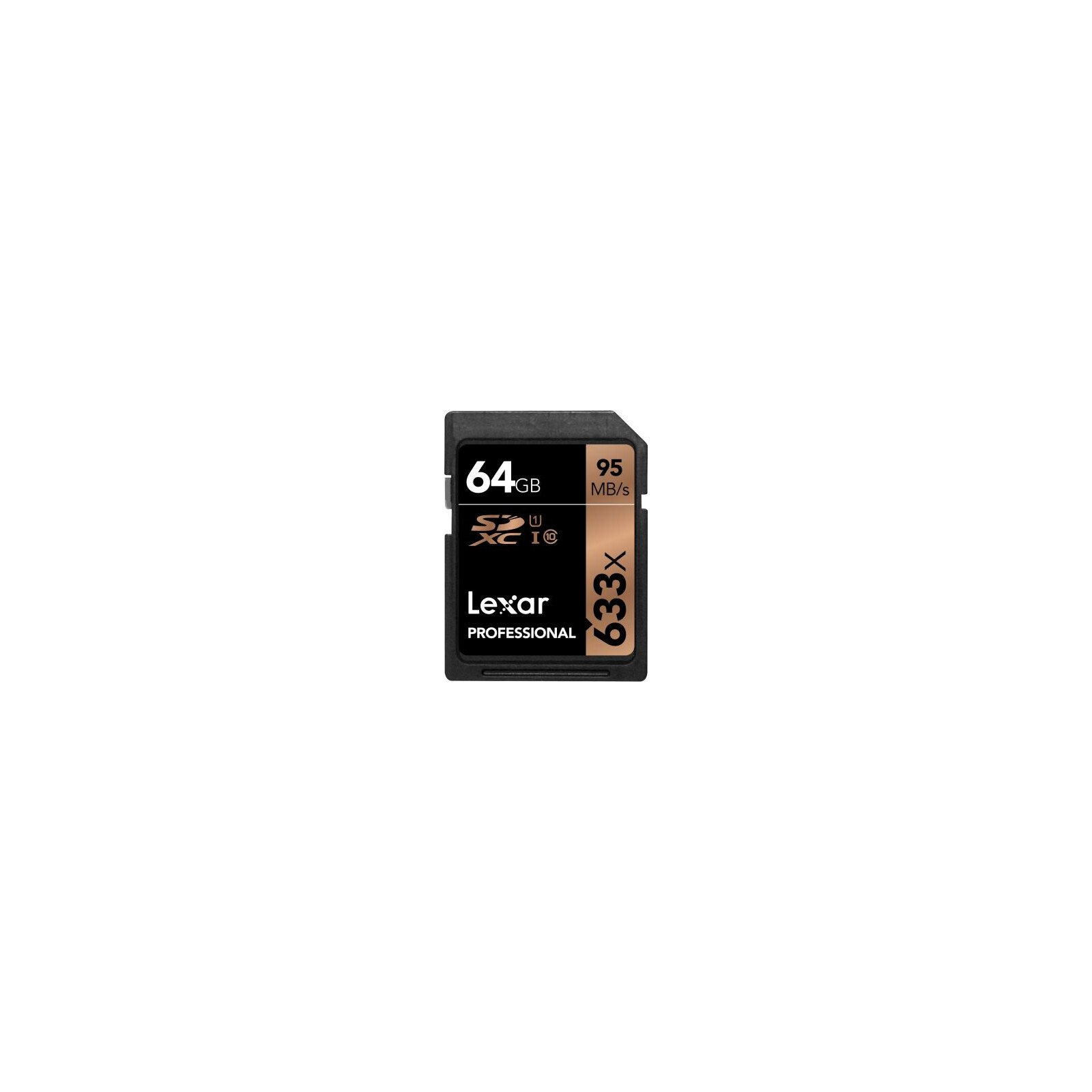 Lexar SDXC 64GB Professional UHS 1 95Mb/s
