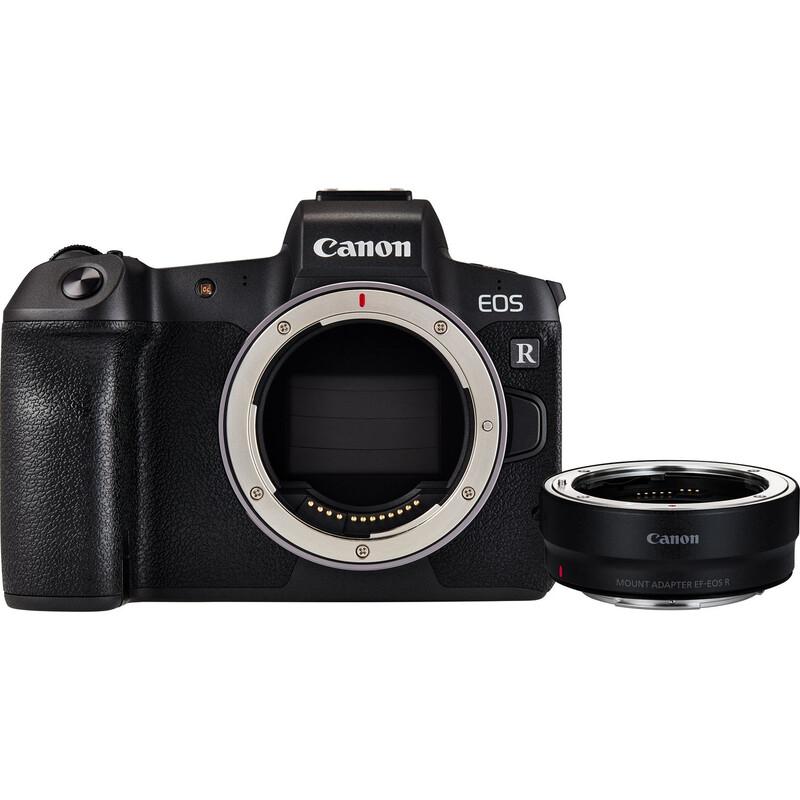 Canon EOS R Geh. + Adapter EF-EOS R