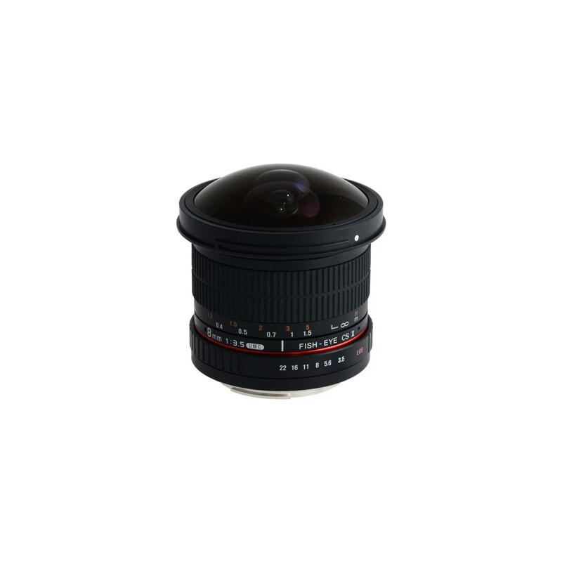 Samyang MF 8/3,5 Fisheye II APS-C Sony A