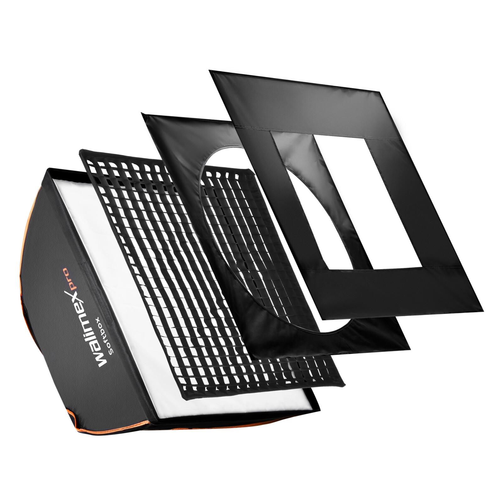 walimex pro Softbox PLUS OL 40x40cm C&CR Serie