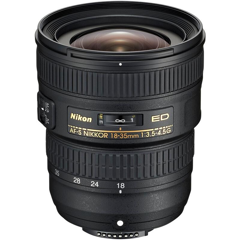 Nikkor AF-S 18-35/3,5-4,5G ED + UV Filter