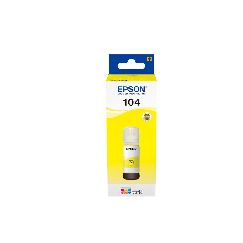 Epson T00P440 Tinte Yellow 65ml