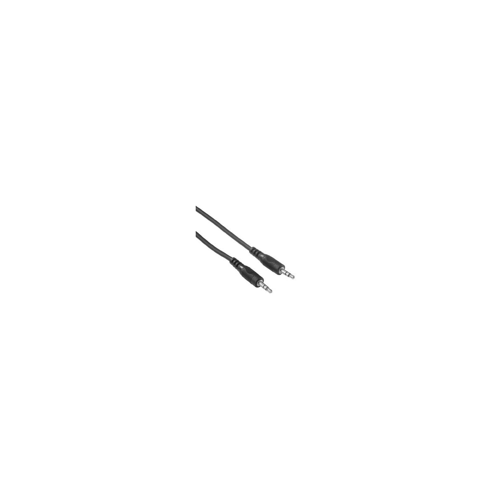 Hama 34053 3,5-mm-Klinken-Kabel, Stecker - Stecker, Stereo,