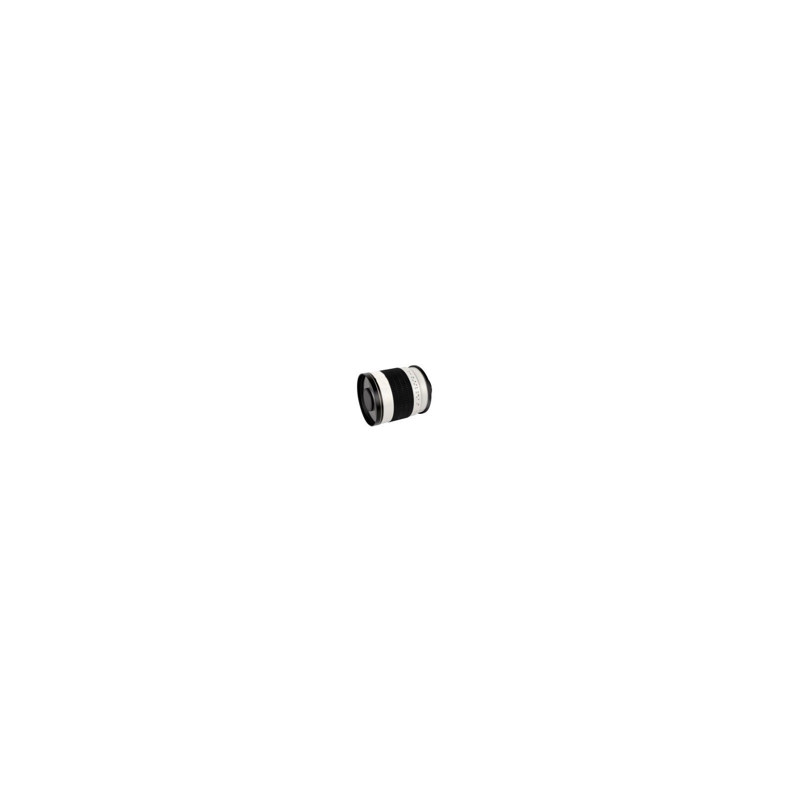 walimex pro 500/6,3 DSLR Spiegel Canon EF Weiß