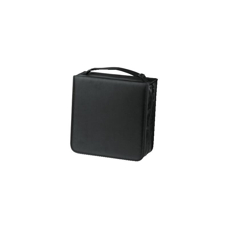 Hama 33837 CD-/DVD-/Blu-ray-Tasche 304 Sw + Pflegetuch