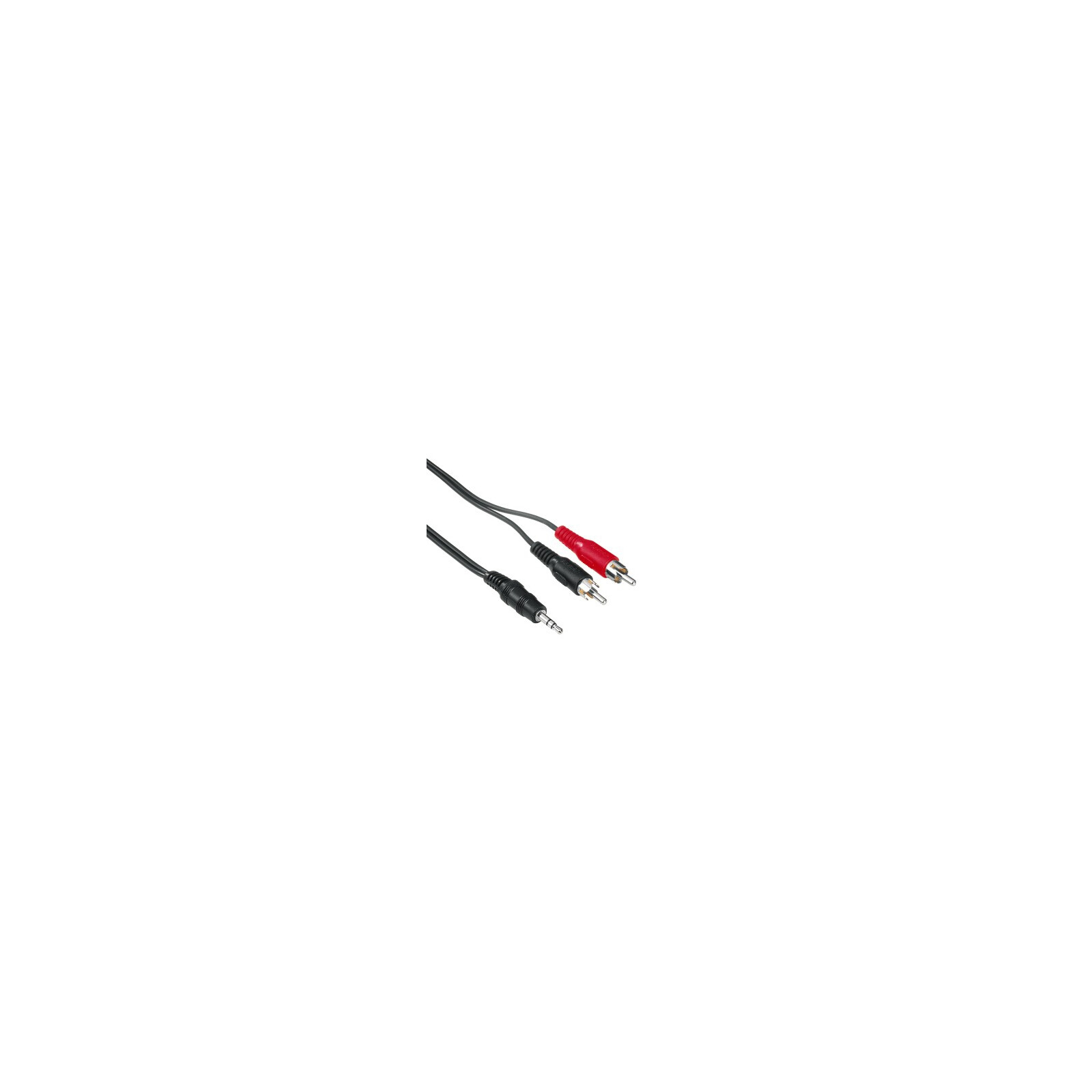 Hama 78479 2Cinch Stecker 3,5mm Klinkestecker Stereo 3m