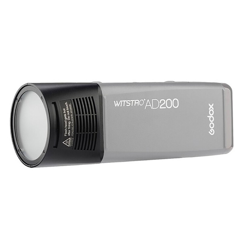 GODOX Blitzkopf rund für AD200