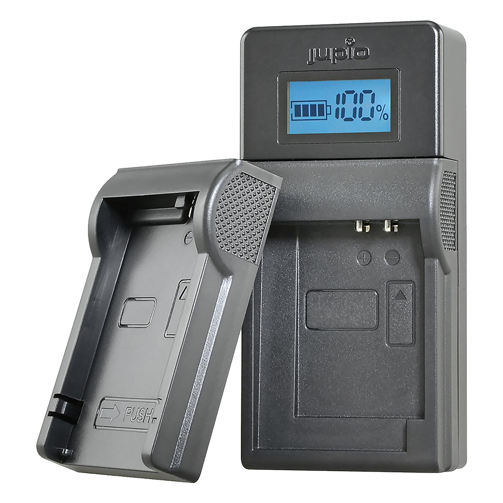 Jupio Brand Charger für Canon 7.2-8.4V Akkus