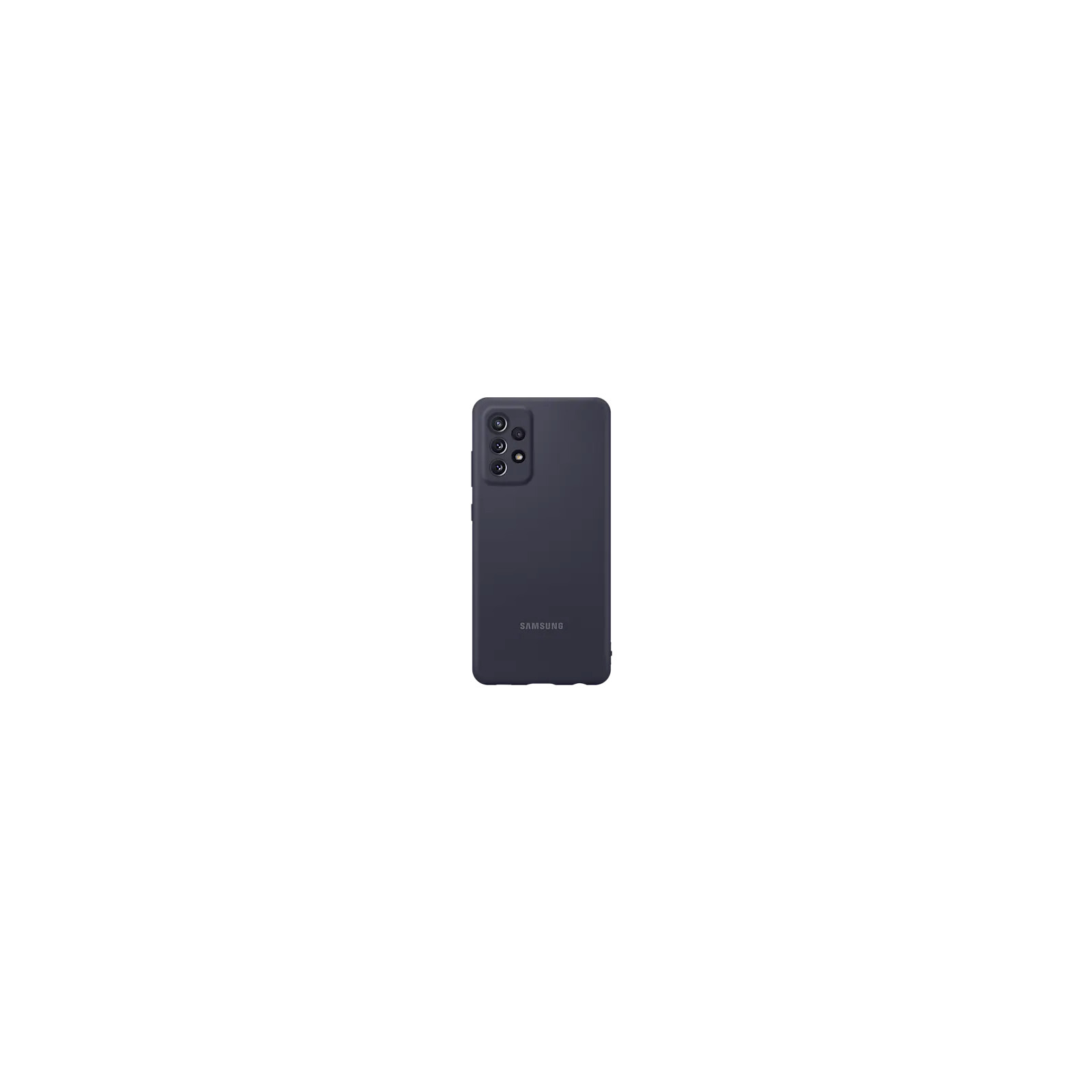Samsung Back Cover Silicone Galaxy A72 black