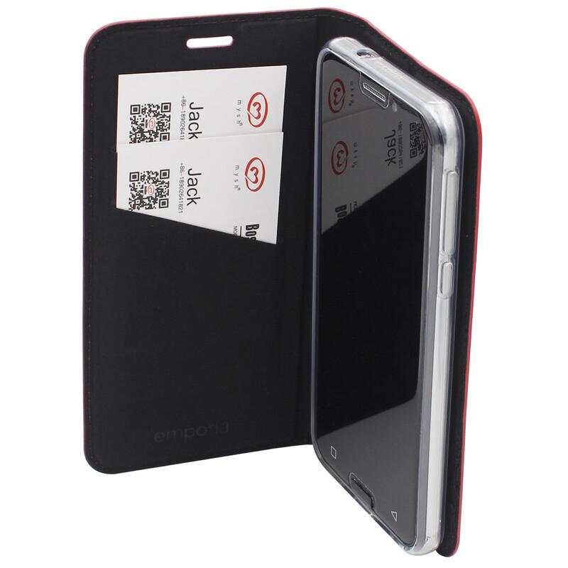 Emporia Book Tasche Emporia Smart.3 Leder rot