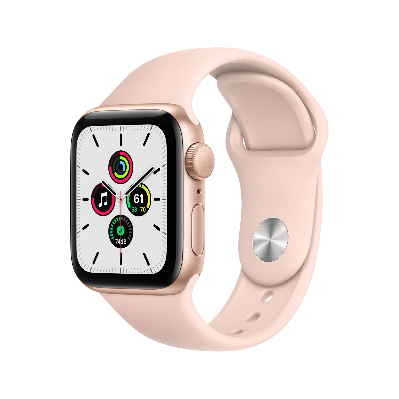Apple Watch SE GPS Alu gold 40mm sandrosa