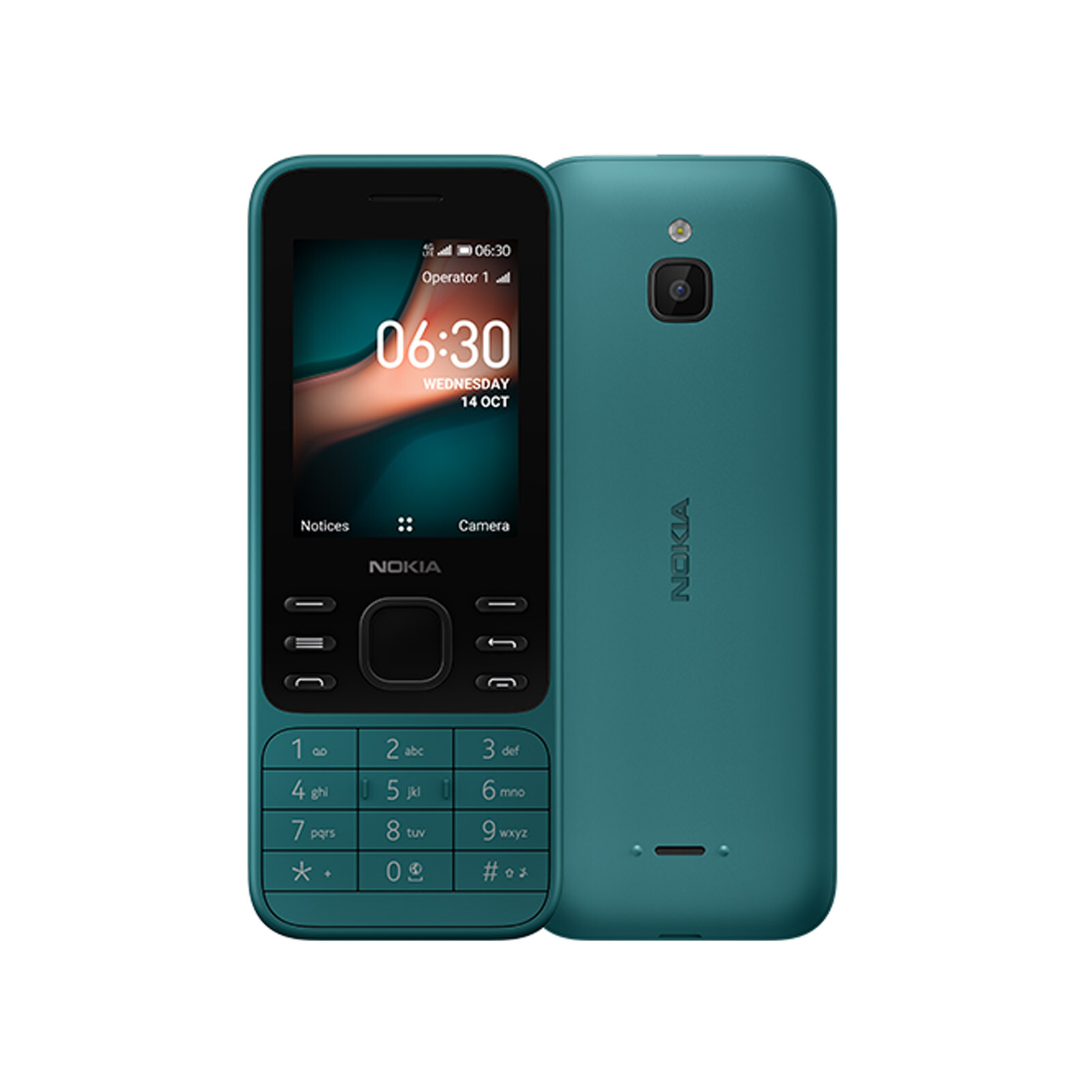Nokia 6300 4G blau Dual-SIM