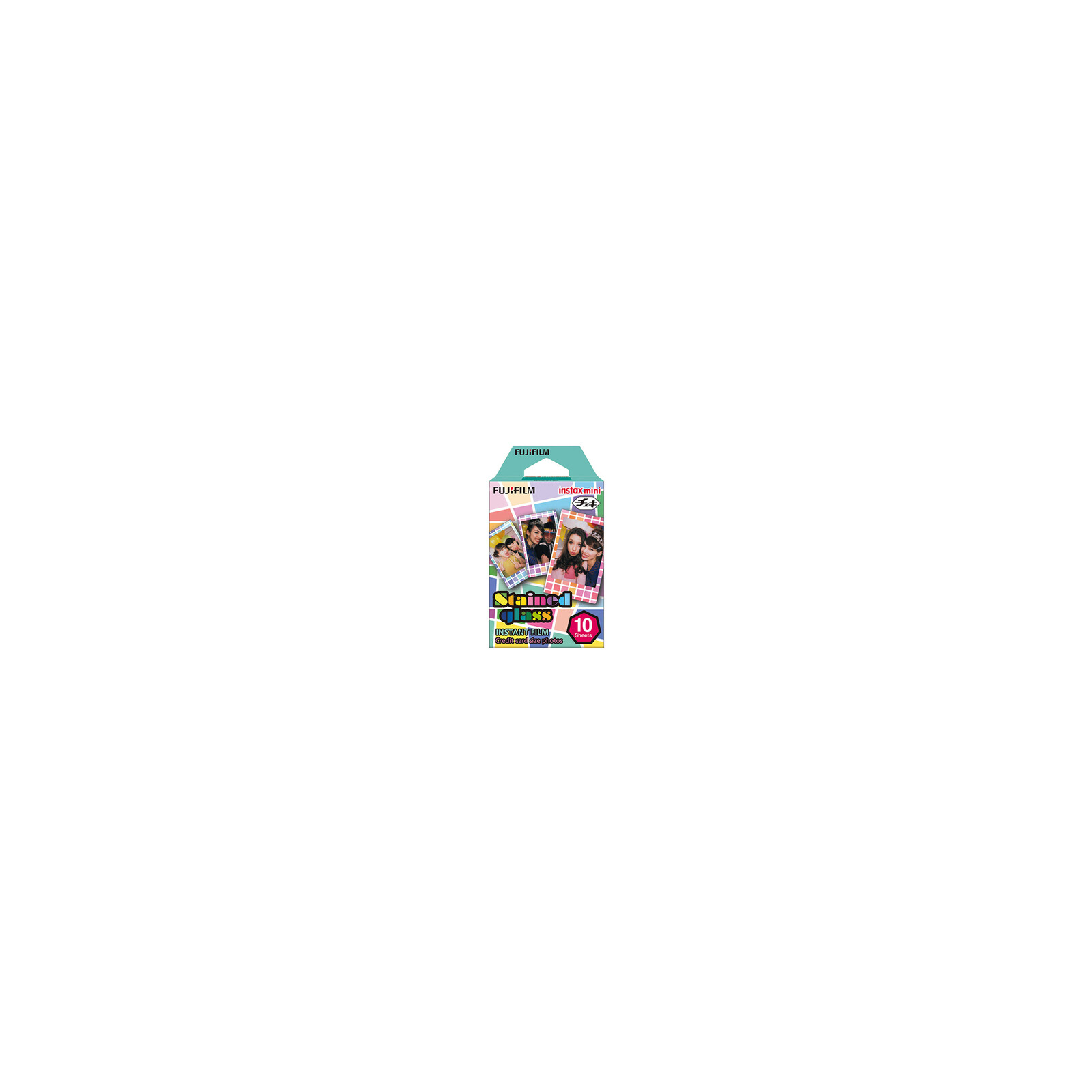 Fujifilm Instax Mini Stained Glass + Aufbewahrungsbox