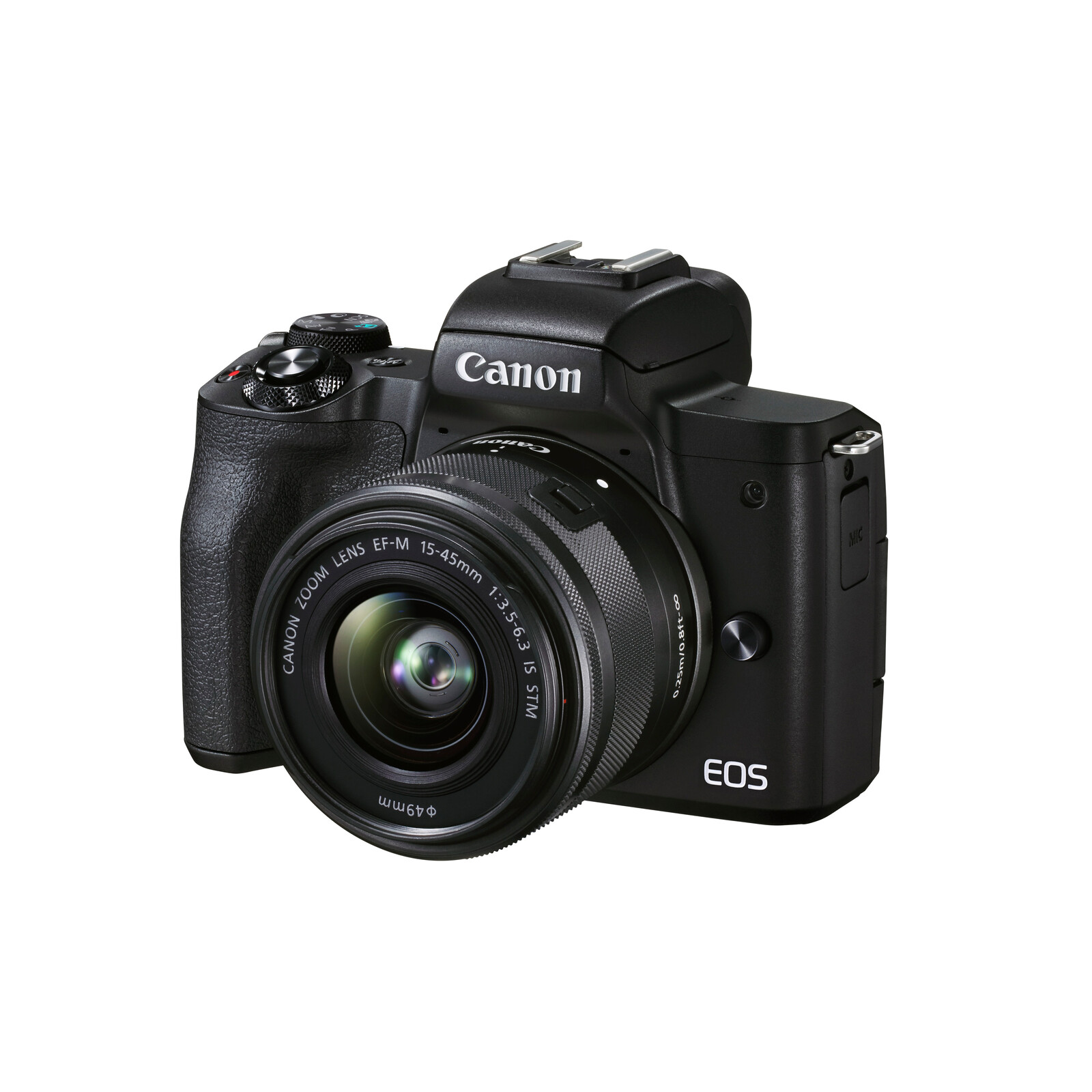 Canon EOS M50 Mark II Gehäuse + EF-M 15-45mm f3.5-6.3 Kit
