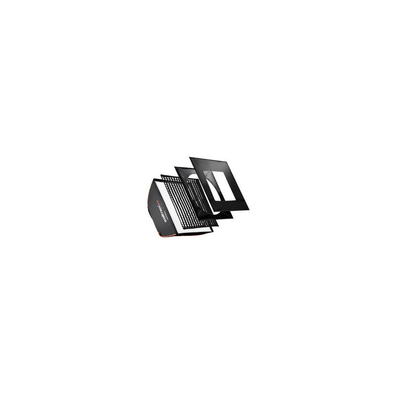 walimex pro Softbox PLUS Orange Line 40x40