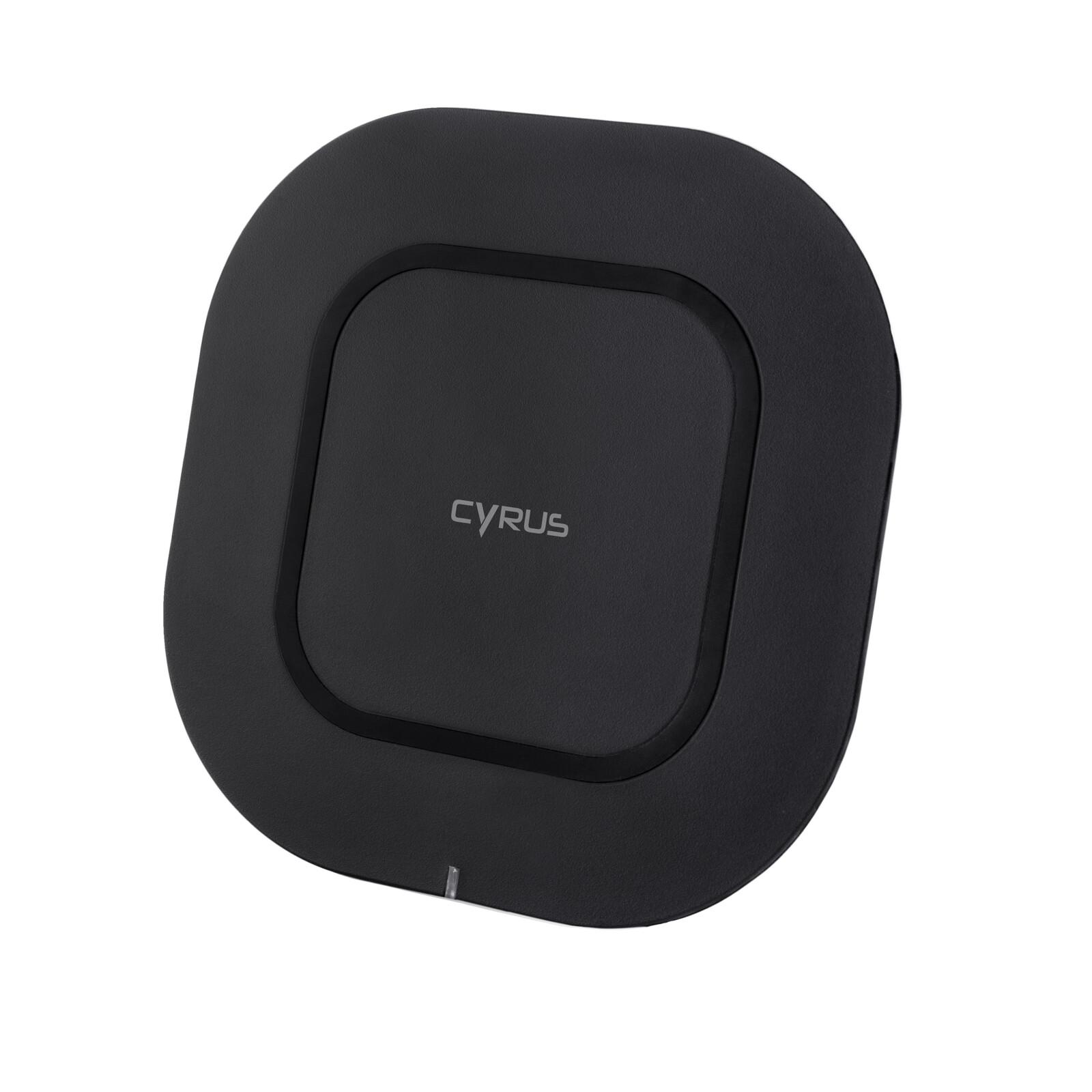 Cyrus QI Ladeschale Wireless black