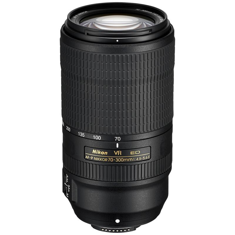 Nikkor AF-P 70-300/4,5-5,6E ED VR + UV Filter