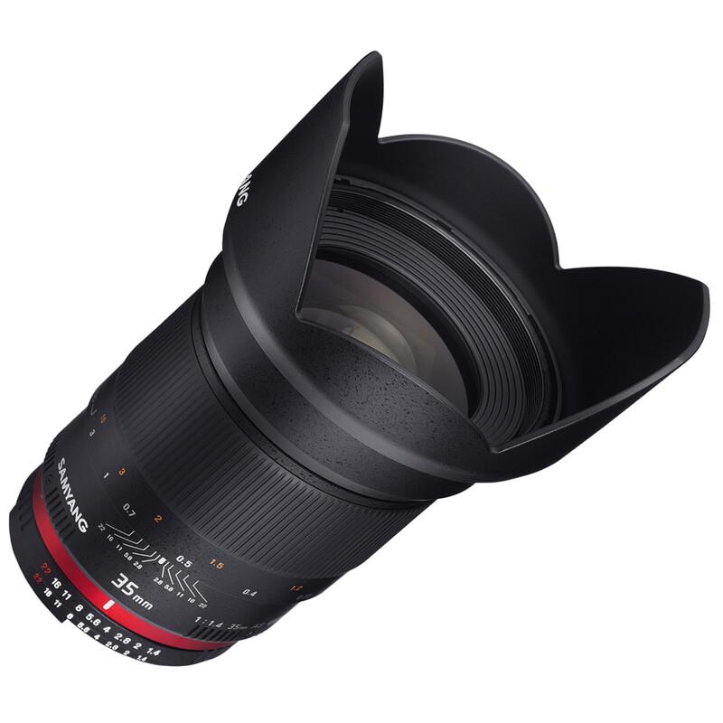 Samyang 35/1,4 DSLR Fuji X + UV Filter
