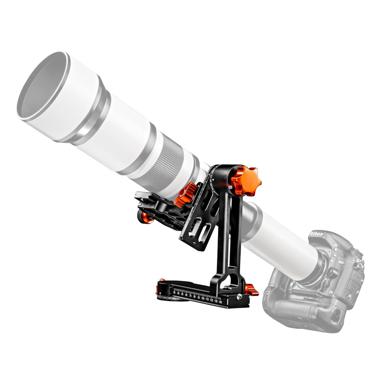 walimex pro Aluminium Gimbal Head Stativkopf A20