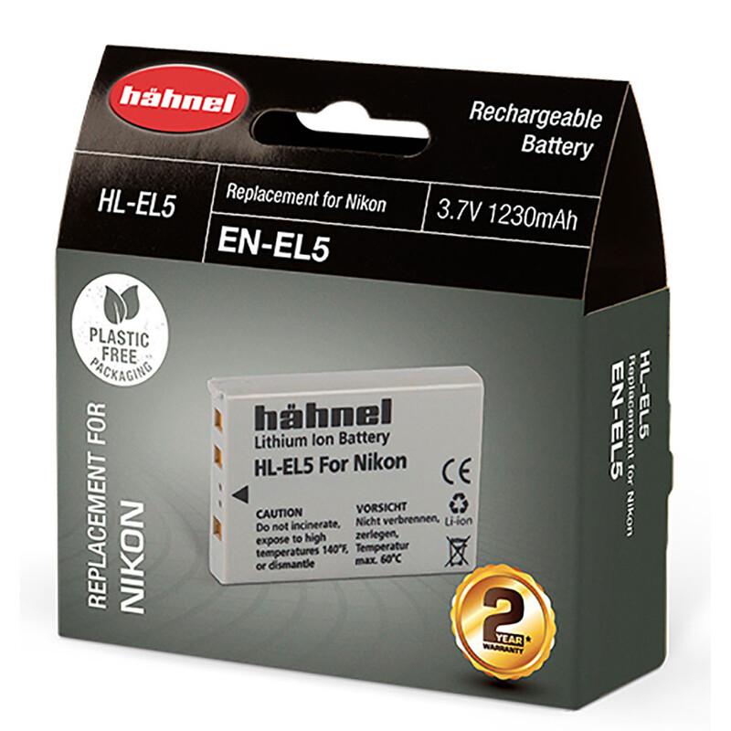 Hähnel Nikon EN-EL5 Akku