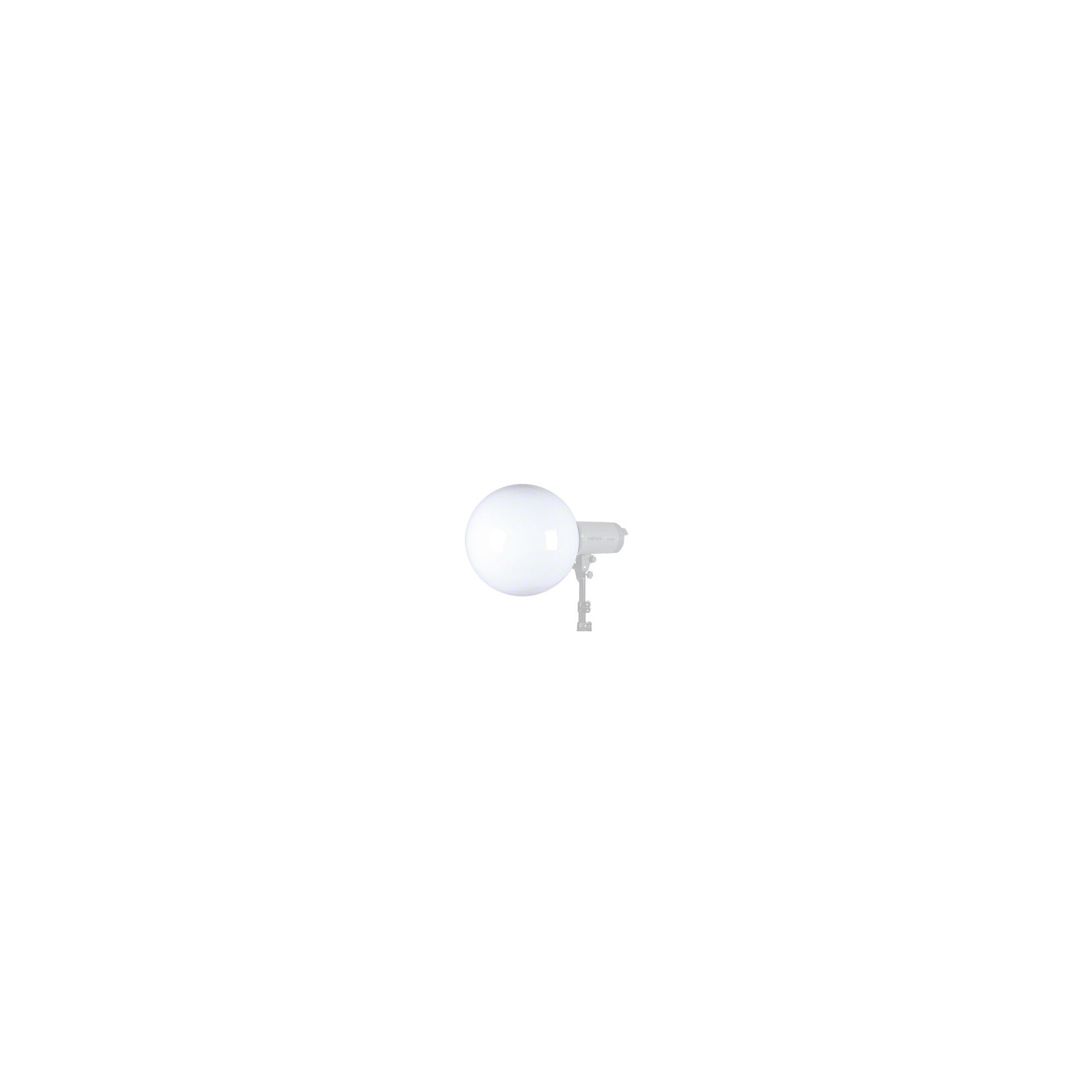 walimex Universal Diffusorkugel, 30cm Mulitblitz V