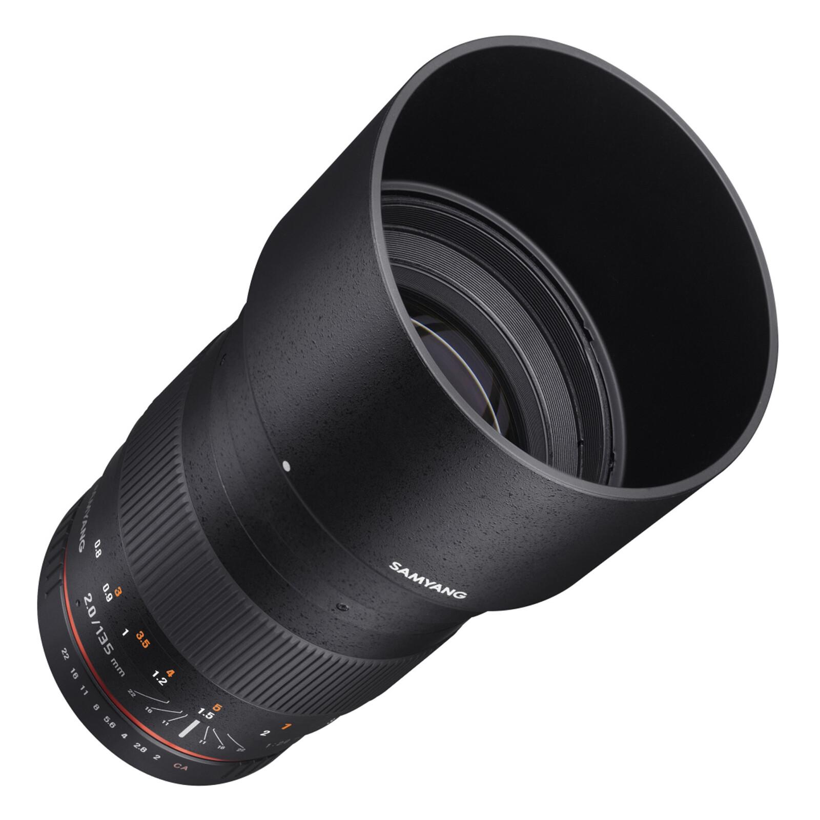 Samyang 135/2,0 DSLR Canon EF + UV Filter