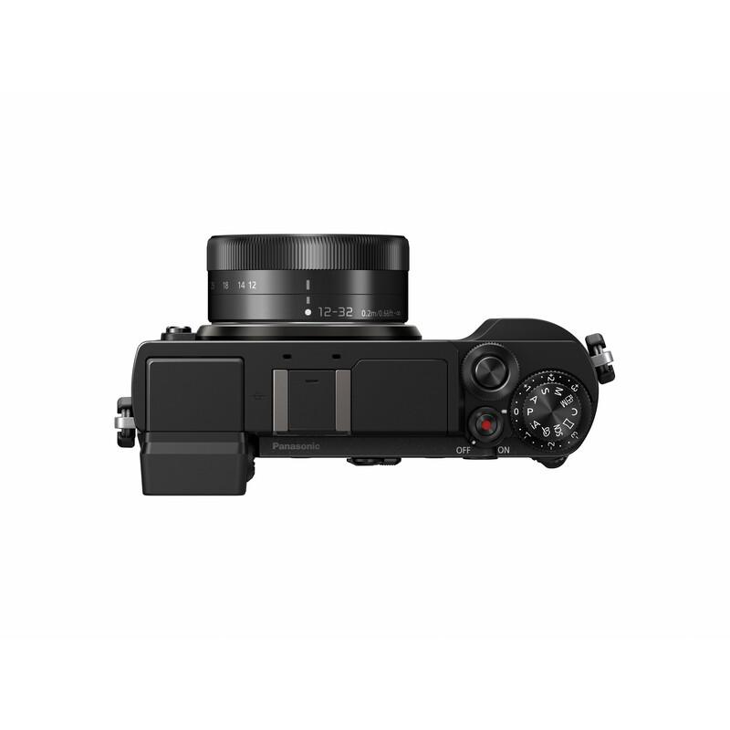 Panasonic DC-GX9KEG+H-FS 12-32/3,5-5,6 Schwarz