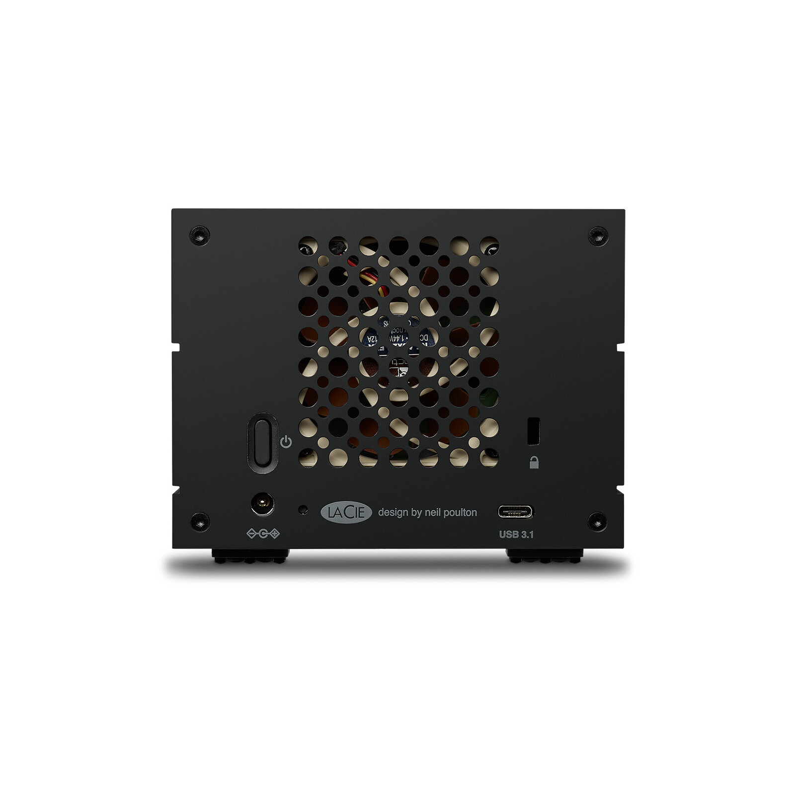 LaCie 2big RAID 4TB DAS, USB 3.1, RAID 0/1