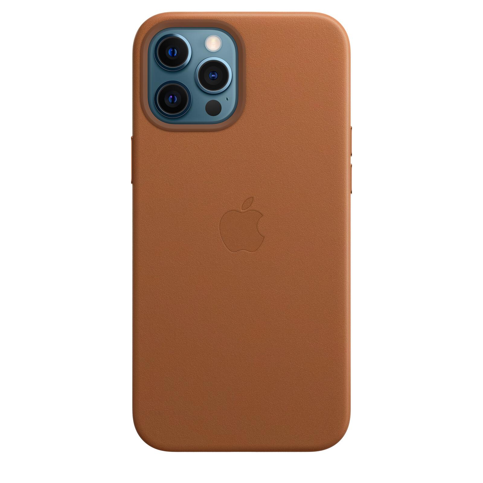 Apple iPhone 12/12 Pro Max Leder Case mit MagSafe braun