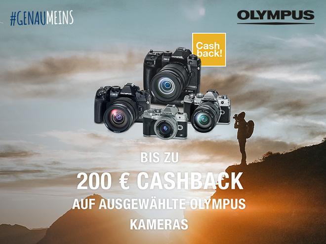 Olympus Sommer Cashback