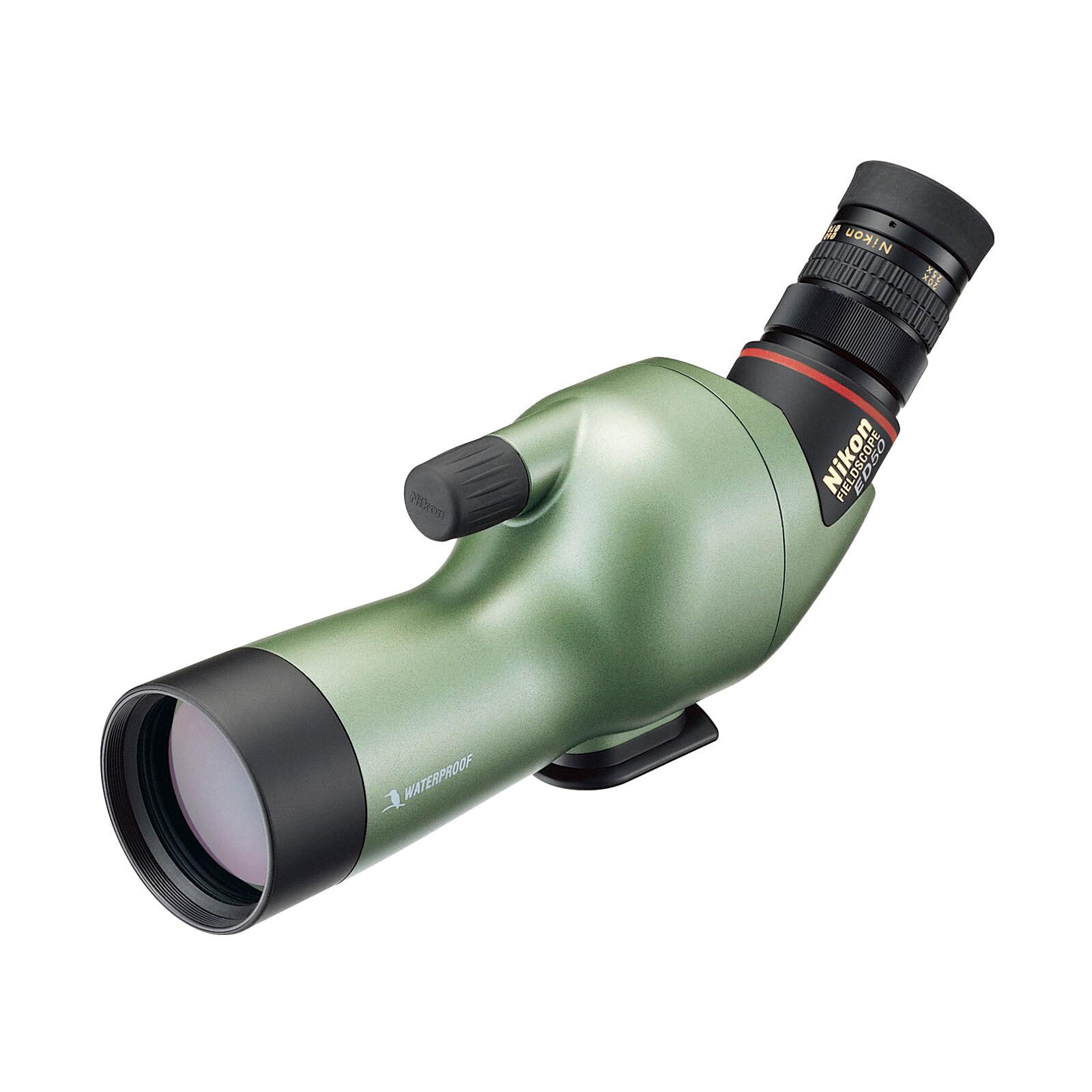 Nikon ED50 Beobachtungsfernrohr Angled Grün Perlglanz